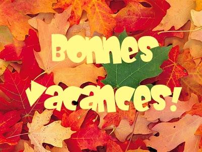 Vacances d'automne
